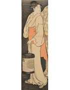 einfarbige japanische Iromuji Kimono - Korokan