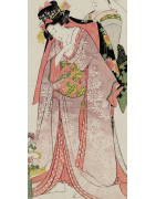 japanische Furisode Kimono - Korokan