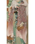 japanische Haori Kimonojacken - Korokan