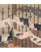 japanische Baumwollstoffe - Korokan