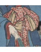 japanische Himo Kimono Bänder - Korokan