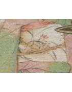 japanische Obijime mit Gold / Silberfäden - Korokan